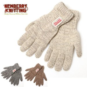 NEWBERRY KNITTING ニューベリーニッティング Lined Rag Wool Glove LM332PX-LD 【手袋/ウールグローブ/グローブ】【メール便・代引不可】 snb-shop