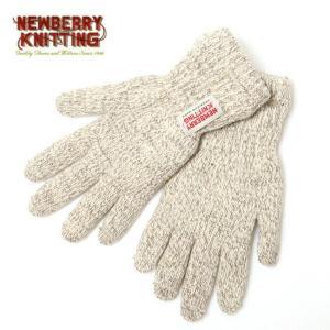 NEWBERRY KNITTING ニューベリーニッティング Rag Wool Glove With Newtech LM332P 【手袋/ウールグローブ/グローブ】【メール便・代引不可】 snb-shop