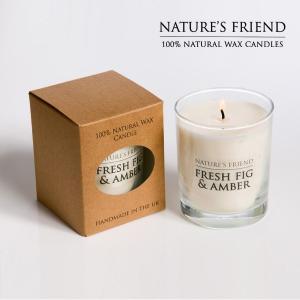 NATURE'S FRIEND/ネイチャーズフレンド ソイワックスキャンドル SOY WAX CANDLE L アロマキャンドル|snb-shop