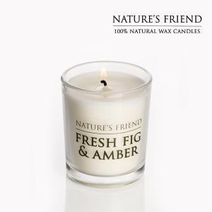 NATURE'S FRIEND/ネイチャーズフレンド ソイワックスキャンドル SOY WAX CANDLE S アロマキャンドル|snb-shop
