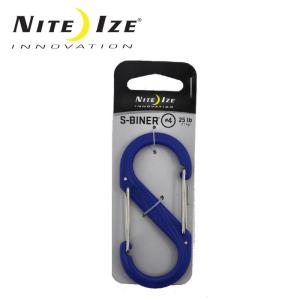 ナイトアイズ NITE-IZE キーホルダー Sビナ プラスチックNo4/SBP4-03-03/ブルー/日本正規品|snb-shop