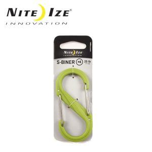 ナイトアイズ NITE-IZE キーホルダー Sビナ プラスチックNo4/SBP4-03-17/グリーン/日本正規品|snb-shop