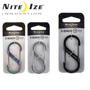 ナイトアイズ NITE-IZE S-BINER STAINLESS No3/SB3-03 【雑貨】 キーホルダー アクセサリー|snb-shop