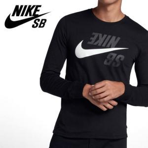 NIKE SB ナイキ SB メンズ ロングスリーブ スケートボード Tシャツ AA8090 【アウトドア/メンズ/Tシャツ】【メール便・代引不可】|snb-shop