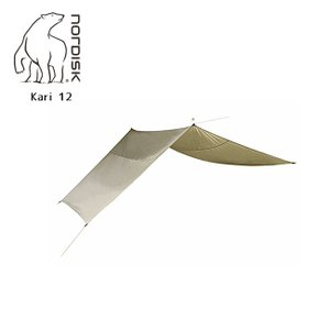 NORDISK ノルディスク Kari 12 (カーリ12) 242017 【防水シート/タープ/アウトドア/キャンプ】 142017|snb-shop