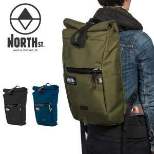 North St. Bags ノースストリートバッグス Davis Daypack 【バックパック/バッグ/バック/ロールトップ/アウトドア】|snb-shop