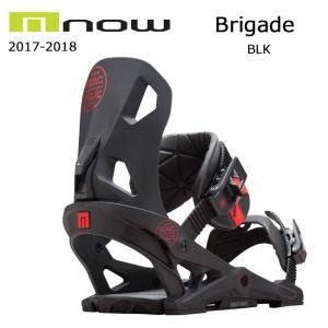 2018 NOW ナウ ビンディング BRIGADE BLK 【ビンディング】メンズ|snb-shop