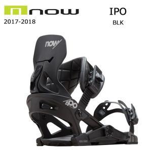 2018 NOW ナウ ビンディング IPO BLK 【ビンディング】メンズ|snb-shop