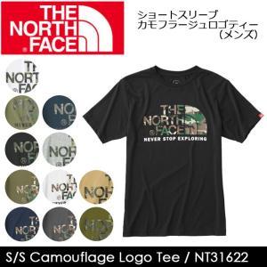 ノースフェイス THE NORTH FACE Tシャツ ショートスリーブカモフラージュロゴティー(メ...