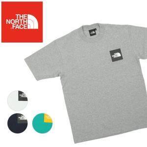 THE NORTH FACE ノースフェイス S/S SMALL SQUARE L スモールスクエアL NT31900 【日本正規品/Tシャツメンズ/半袖 】【メール便・代引不可】|snb-shop