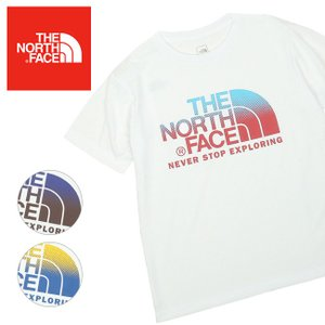 THE NORTH FACE ノースフェイス Dot Gradation Tee S/S TNF ドット グラデーションティ NT31990 【日本正規品/Tシャツ/アウトドア】【メール便・代引不可】|snb-shop
