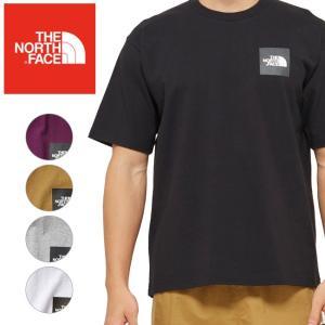 THE NORTH FACE ノースフェイス S/S Square Logo Tee ショートスリーブスクエアロゴティー NT81930 【メンズ/トップス/Tシャツ/半袖/アウトドア】|snb-shop