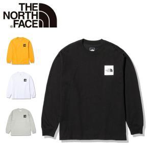 THE NORTH FACE ノースフェイス ロングスリーブスクエアロゴティー NT82136【Tシ...