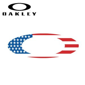OAKLEY オークリー 9 Foundation Logo Sticker (Flag) (68) 211-004-001 【ステッカー/シール/おしゃれ/アウトドア】|snb-shop