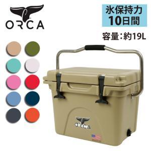 ORCA オルカ  クーラーボックス 20 Quart 【ZAKK】大型 クーラーBOX バーベキュー アウトドア 保冷 ピクニック 海水浴|snb-shop