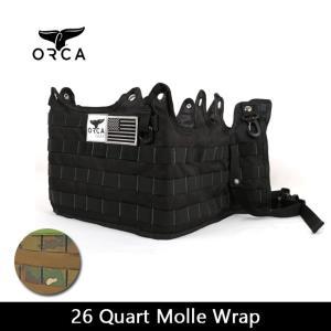 ORCA オルカ  カスタマイズホルダー 26 Quart Molle Wrap 【ZAKK】クーラーBOX グッズ バーベキュー アウトドア|snb-shop