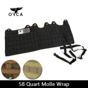 ORCA オルカ  カスタマイズホルダー 58 Quart Molle Wrap 【ZAKK】クーラーBOX グッズ バーベキュー アウトドア|snb-shop
