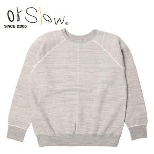 Orslow オアスロウ Sweat Shirt unisex Gray 03-0015-64 【アウトドア/メンズ/レディース/ユニセックス/シャツ/スウェット】|snb-shop