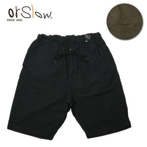 Orslow オアスロウ UNISEX NEW YORKER SHORTS 03-7022 【パンツ/ショートパンツ/イージーショーツ/ユニセックス】|snb-shop