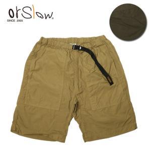 Orslow オアスロウ CLIMBING SHORTS (UNISEX) 03-7044 【パンツ/ショートパンツ/イージーショーツ/ユニセックス】|snb-shop