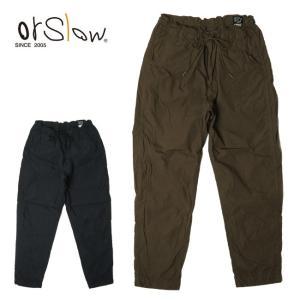 Orslow オアスロウ NEW YORKER  (UNISEX) 03-1002 【パンツ/ズボン/アウトドア/ユニセックス】|snb-shop