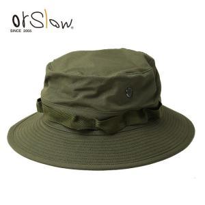 Orslow オアスロウ US ARMY JUNGLE HAT (UNISEX) 03-023-76 【ハット/帽子/アウトドア/ユニセックス】|snb-shop