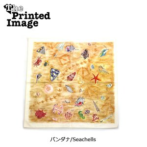 The Printed Image/ザ・プリンテッドイメージ  バンダナ/Seachells 【メール便・代引不可】 snb-shop