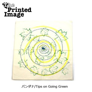 The Printed Image/ザ・プリンテッドイメージ  バンダナ/Tips on Going Green 【メール便・代引不可】|snb-shop