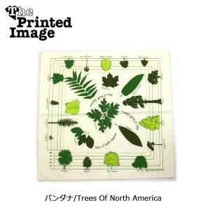 The Printed Image/ザ・プリンテッドイメージ  バンダナ/Trees Of North America 【メール便・代引不可】 snb-shop
