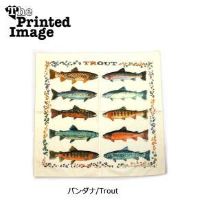 The Printed Image/ザ・プリンテッドイメージ  バンダナ/Trout 【メール便・代引不可】 snb-shop