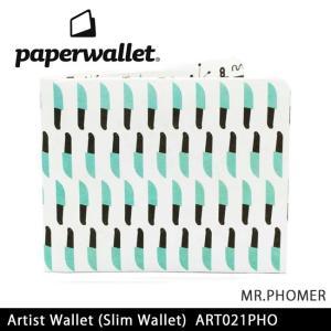 PaperWallet ペーパーウォレット ウォレット Artist Wallet (Slim Wallet)/MR.PHOMER ART021PHO【メール便・代引不可】|snb-shop
