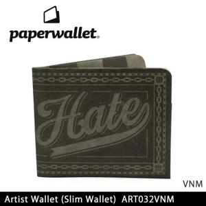 PaperWallet ペーパーウォレット ウォレット Artist Wallet (Slim Wallet)/VNM ART032VNM 【雑貨】財布 タイベック素材 紙の財布【メール便・代引不可】|snb-shop