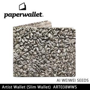PaperWallet ペーパーウォレット ウォレット Artist Wallet (Slim Wallet)/AI WEIWEI SEEDS ART038WWS【メール便・代引不可】|snb-shop