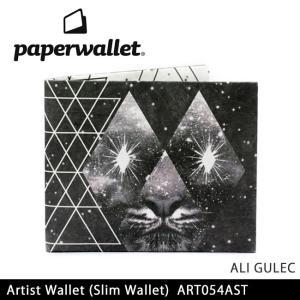 PaperWallet ペーパーウォレット ウォレット Artist Wallet (Slim Wallet)/ALI GULEC ART054AST【メール便・代引不可】|snb-shop