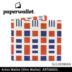 PaperWallet ペーパーウォレット ウォレット Artist Wallet (Slim Wallet)/SLILVERMAN ART060SIL【メール便・代引不可】|snb-shop