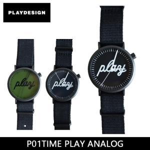 PLAYDESIGN プレイデザイン 腕時計 P01TIME PLAY ANALOG PL-0004 【雑貨】|snb-shop