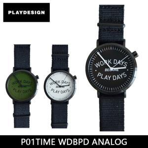 PLAYDESIGN プレイデザイン 腕時計 P01TIME WDBPD ANALOG PL-0005 【雑貨】|snb-shop