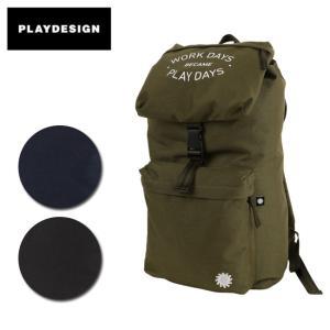PLAYDESIGN プレイデザイン バックパック P01 PLAYPACK PL-BAG001 【カバン】|snb-shop