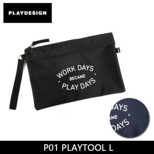 PLAYDESIGN プレイデザイン ポーチ P01 PLAYTOOL L  【カバン】|snb-shop