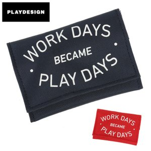 PLAYDESIGN プレイデザイン PLAYWALLET B PL-BAG012B 【財布/ワレット/ナイロン/コインケース】|snb-shop