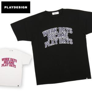 PLAYDESIGN プレイデザイン CW TEE P01-18ST06CW 【Tシャツ/コットン/アウトドア/キャンプ/フェス】【メール便・代引不可】|snb-shop