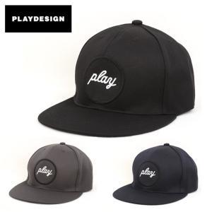 PLAYDESIGN プレイデザイン CIRCLE PLAY CAP LB P01-18ST302CP 【帽子/アウトドア/日除け】|snb-shop