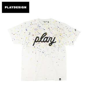 PLAYDESIGN プレイデザイン P01 SPLAYSH PLAY TEE 19SS0SPPT 【半袖/Tシャツ/フェス/アウトドア】【メール便・代引不可】|snb-shop