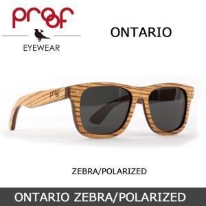 Proof/プルーフ サングラス ONTARIO ZEBRA/POLARIZED snb-shop