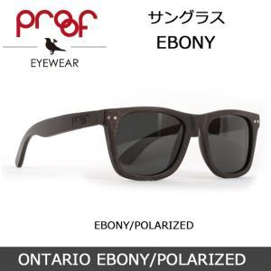 Proof/プルーフ サングラス ONTARIO EBONY/POLARIZED snb-shop