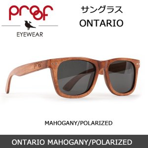 Proof/プルーフ サングラス ONTARIO MAHOGANY/POLARIZED snb-shop
