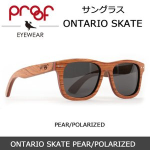 Proof/プルーフ サングラス ONTARIO SKATE PEAR/POLARIZED snb-shop