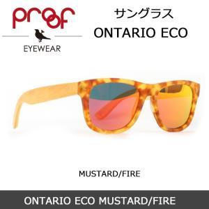 Proof/プルーフ サングラス ONTARIO ECO MUSTARD/FIRE snb-shop