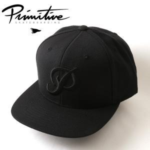 Primitive プリミティブ キャップ NUEVO SCRIPT SNAPBACK PR18SC07 【帽子】メンズ|snb-shop