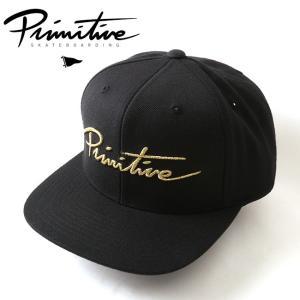 Primitive プリミティブ キャップ CLASSIC P SNAOBACK PR18SC08 【帽子】メンズ|snb-shop